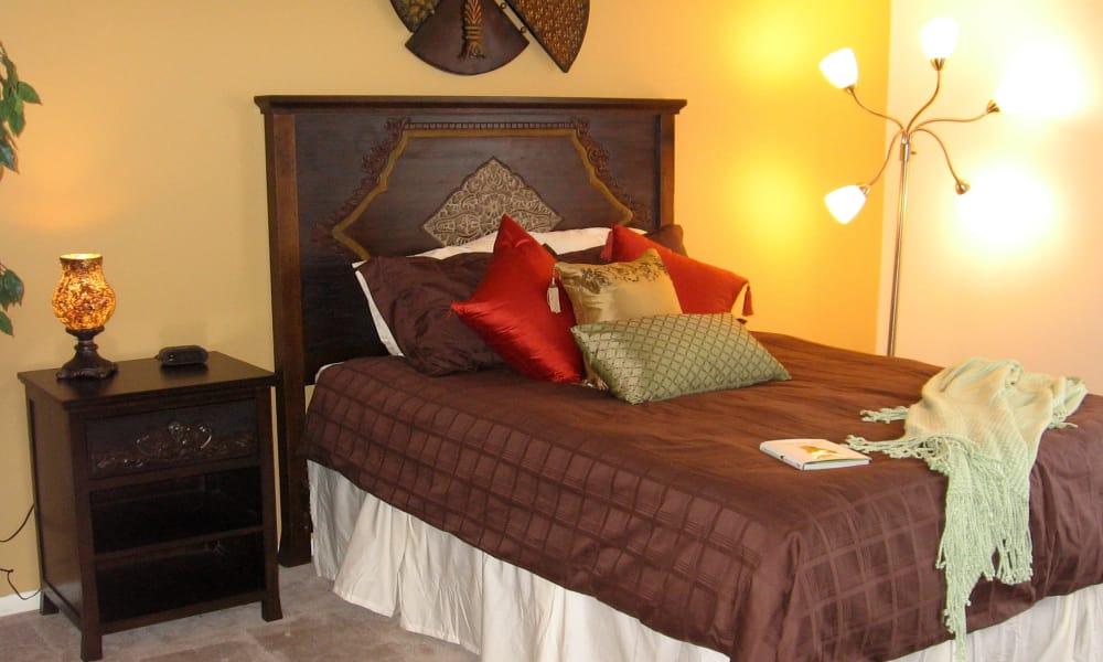 Master Bedroom at Fairway Trails Apartments in Ypsilanti, MI