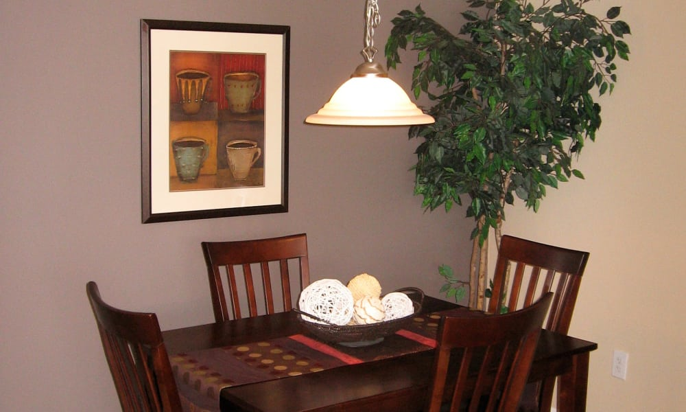 Separate Dining Area at Fairway Trails Apartments in Ypsilanti, MI