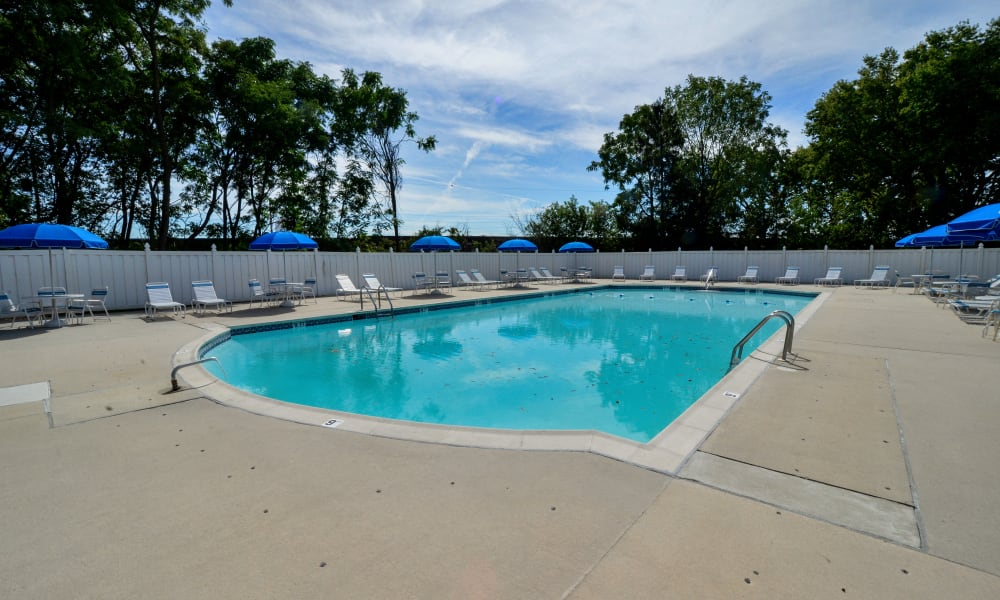 Camp Hill Apartment Homes offers a swimming pool in Camp Hill, PA