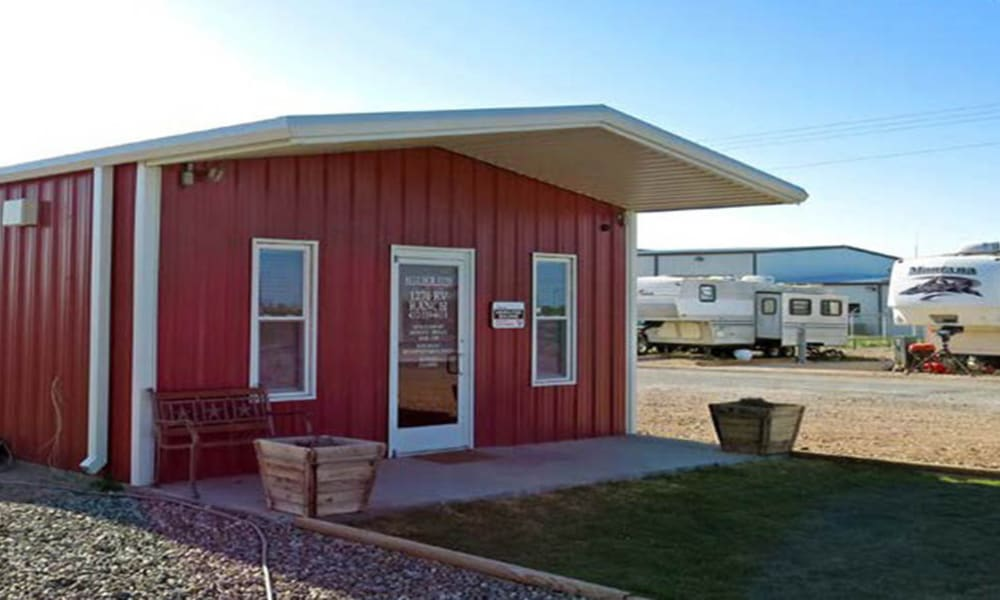 Leasing office at Lucky Star RV Park