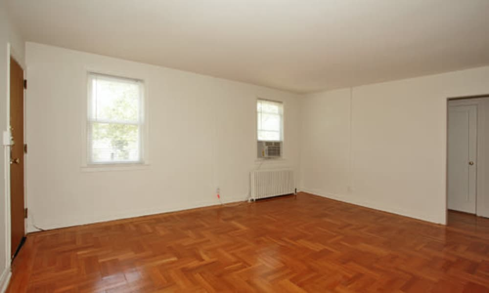 Our apartments offer beautiful hardwood floors at Harper House Apartment Homes