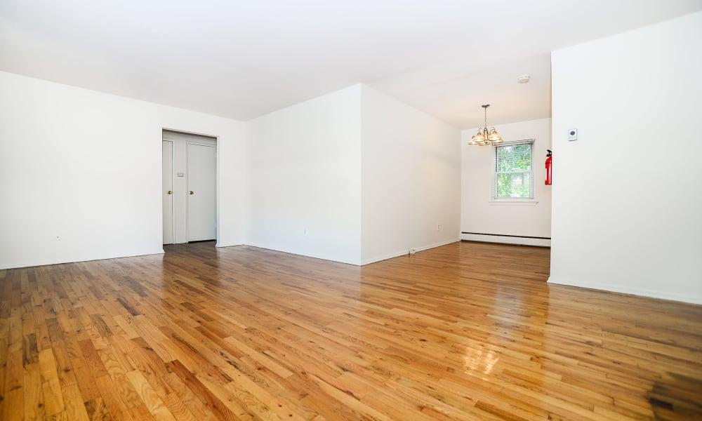 Westview Apartment Homes offers hardwood floors in Westwood, NJ