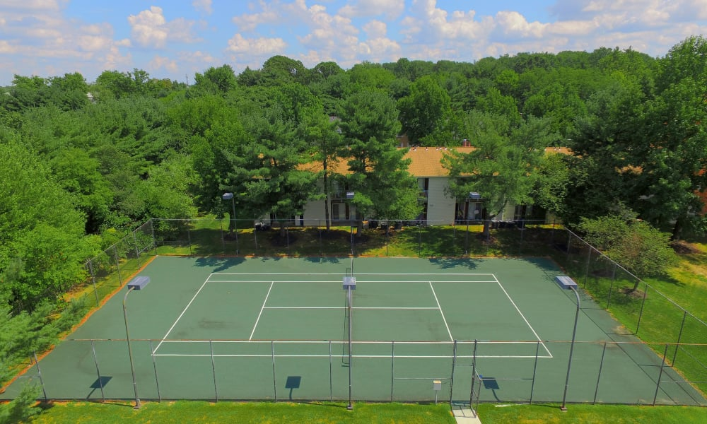 Tory Estates Apartment Homes offers a tennis court in Clementon, NJ