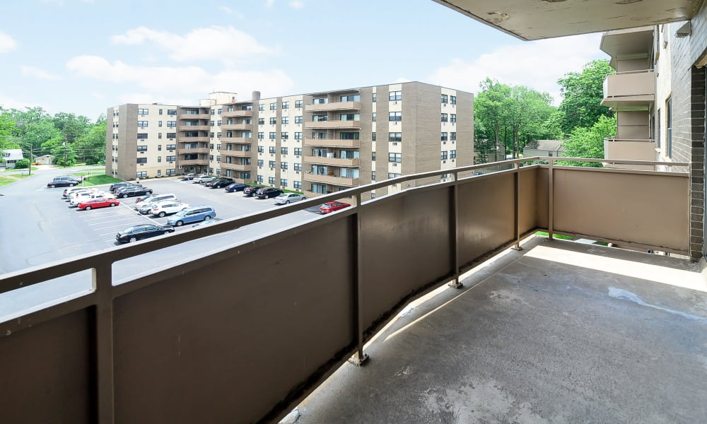 Balcony at The Colonials Apartment Homes in Cherry Hill, NJ