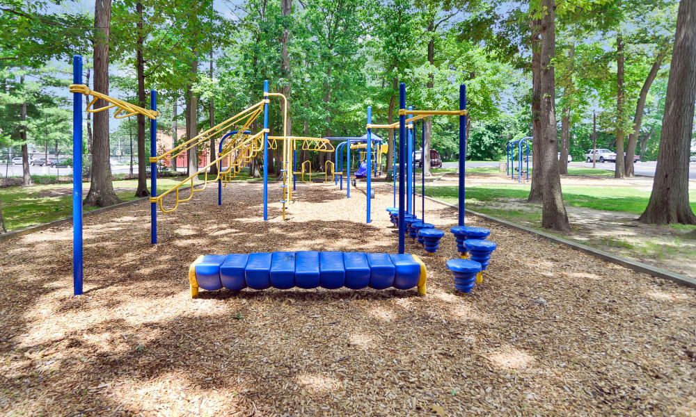 The Colonials Apartment Homes offers a playground in Cherry Hill, NJ