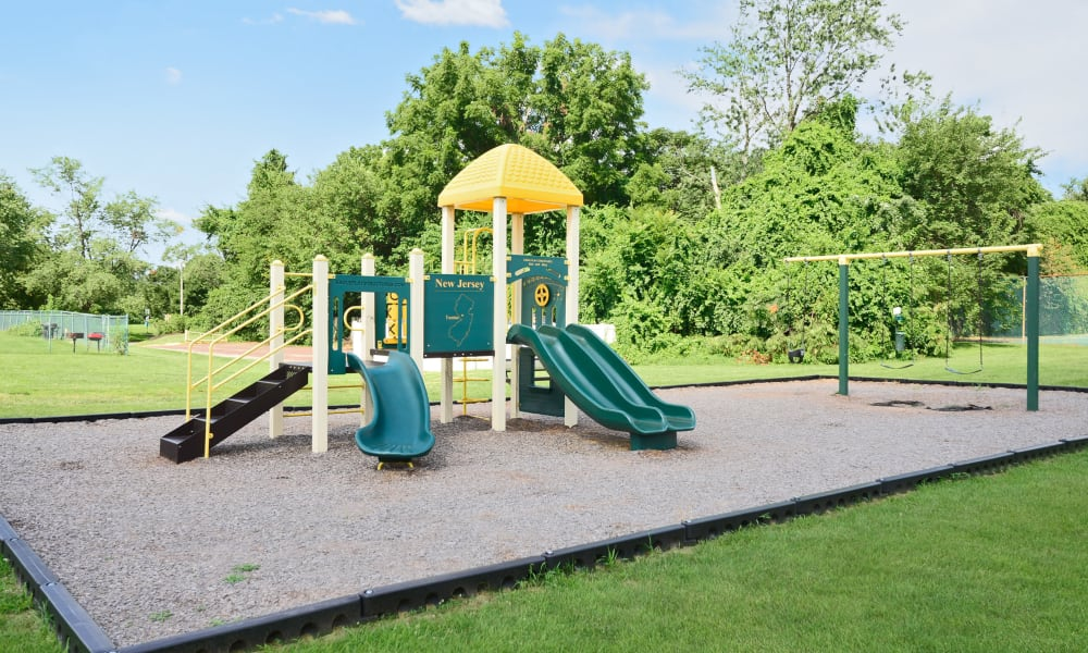 The Fairways Apartment Homes offers a playground in Blackwood, NJ
