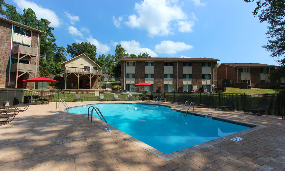 Rollingwood offers unique swimming pools in Vestavia, Alabama
