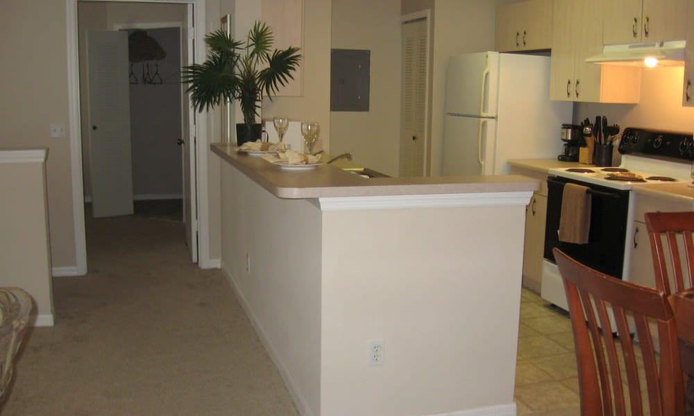 Beautiful kitchen at Walker Woods in Vero Beach, Florida