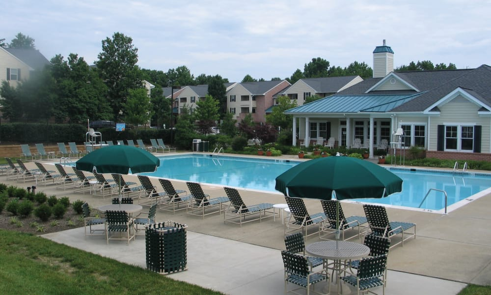 Silver Spring Station Apartment Homes offers a swimming pool in Baltimore, MD