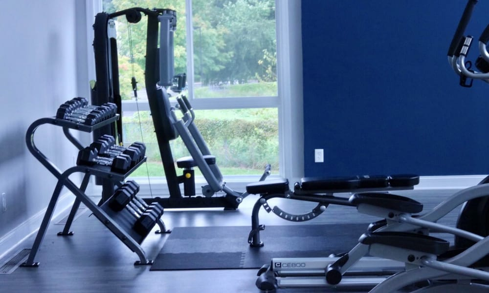 Our apartments in Largo, MD offer a fitness center