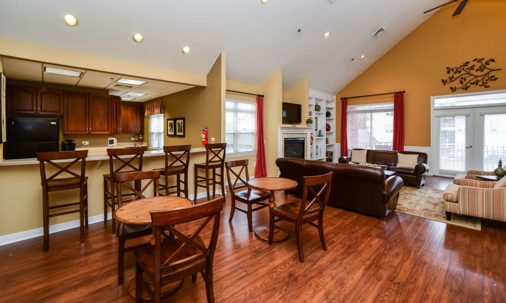 Bishop's View Apartments & Townhomes offers hardwood floors in Cherry Hill, NJ