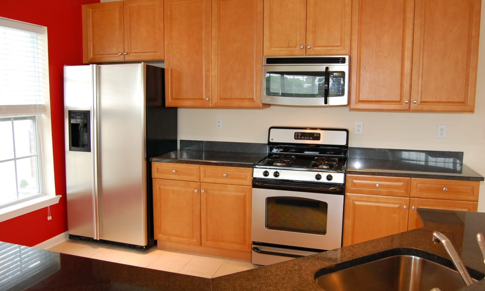 Our apartments in Cranford, NJ have a naturally well-lit kitchen