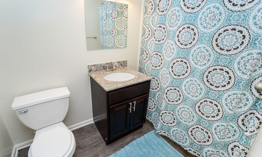 Enjoy apartments with a bathroom at Henry on the Park Apartment Homes