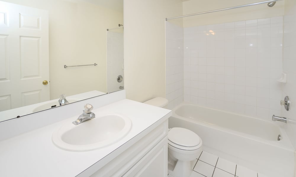Bathroom at Mews at Annandale Townhomes in Annandale, NJ