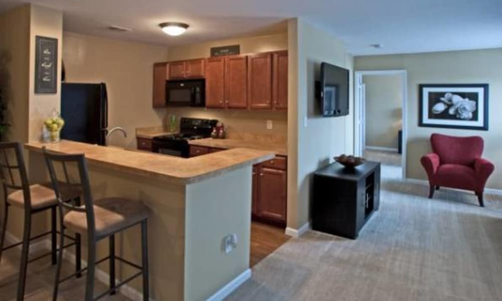 Montgomery Manor Apartments & Townhomes offers a kitchen in Hatfield, PA