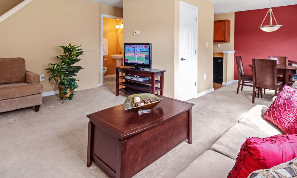 Our apartments in Hatfield, PA showcase a spacious living room