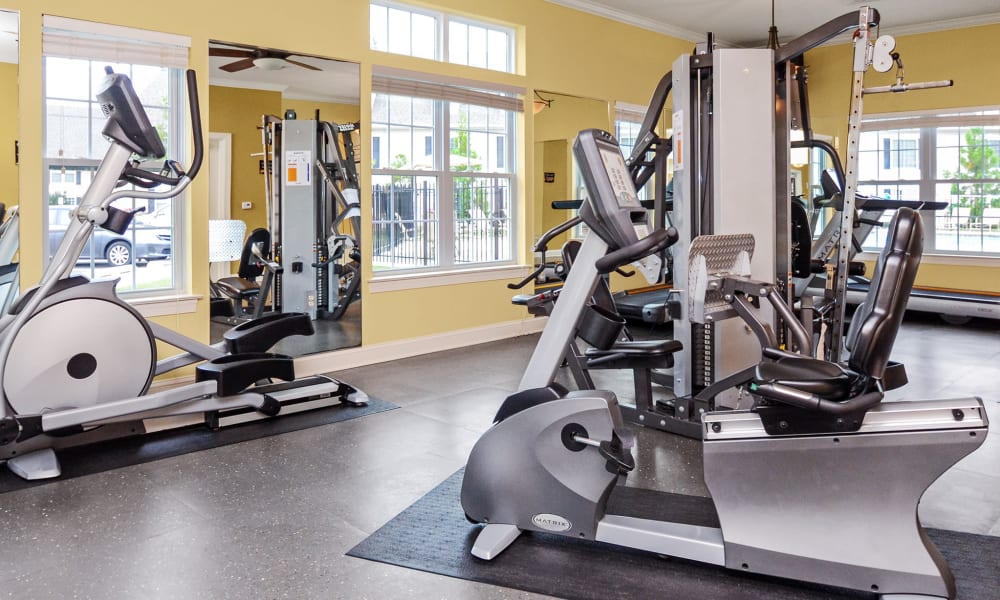 Montgomery Manor Apartments & Townhomes offers a fitness center in Hatfield, PA