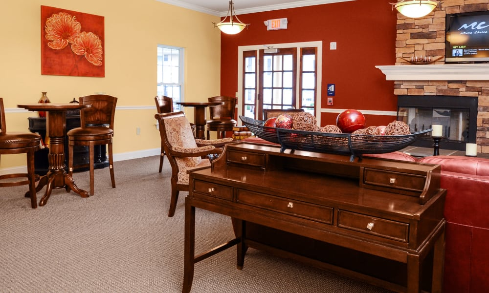 Clubhouse at Montgomery Manor Apartments & Townhomes in Hatfield, PA