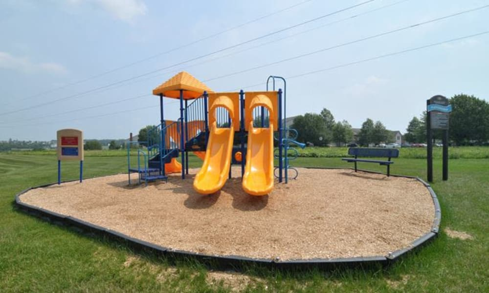 Montgomery Woods Townhomes offers a playground in Harleysville, PA