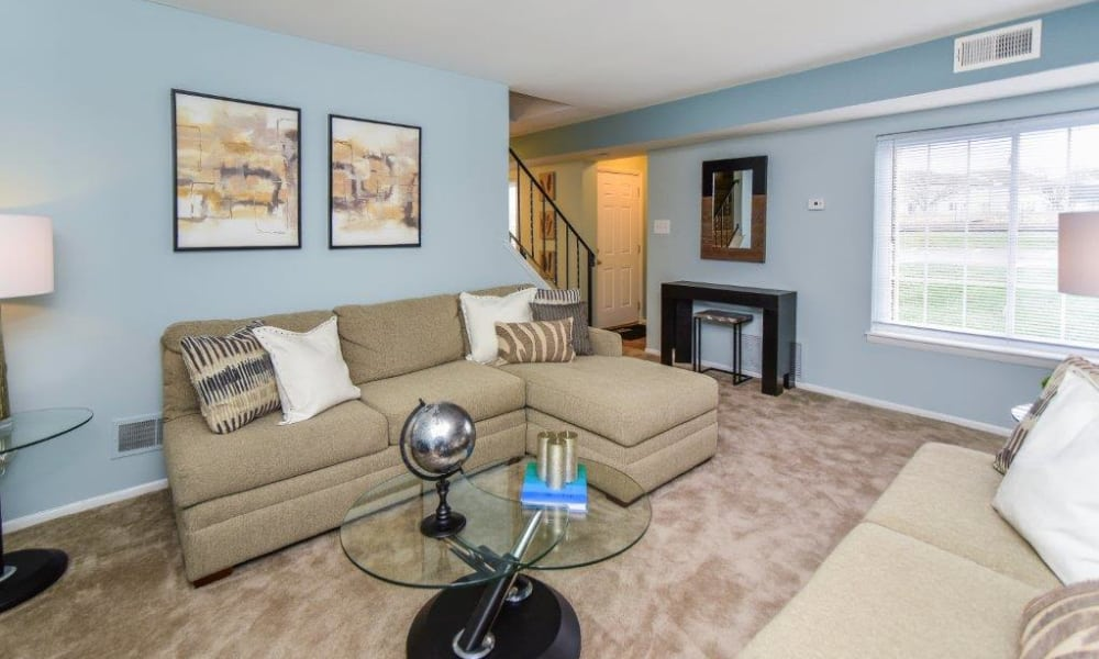 Our apartments in Harleysville, PA have a cozy living room