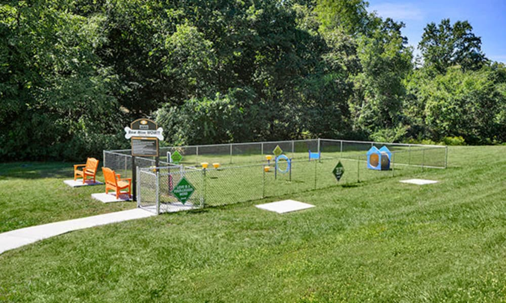 Montgomery Woods Townhomes offers a dog park in Harleysville, PA