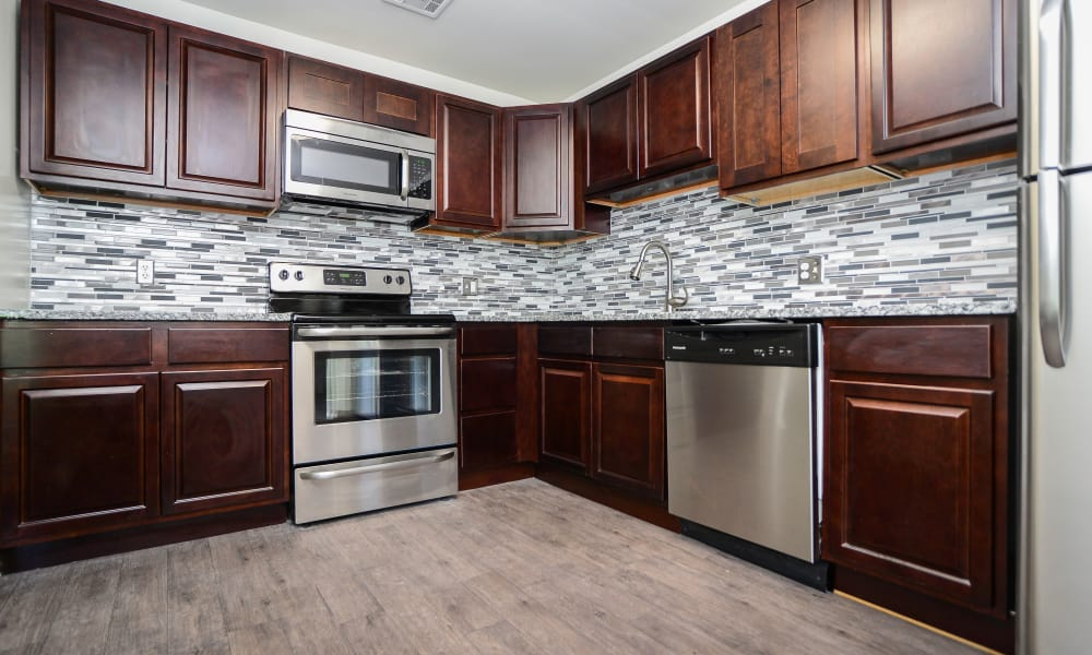Timberlake Apartment Homes offers a kitchen in East Norriton, PA