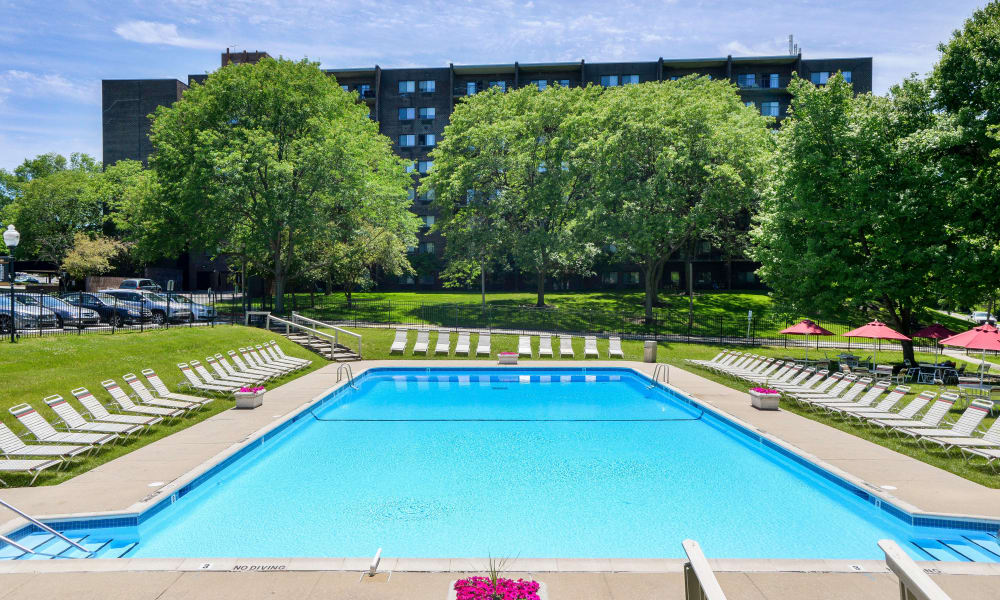 Timberlake Apartment Homes offers a swimming pool in East Norriton, PA