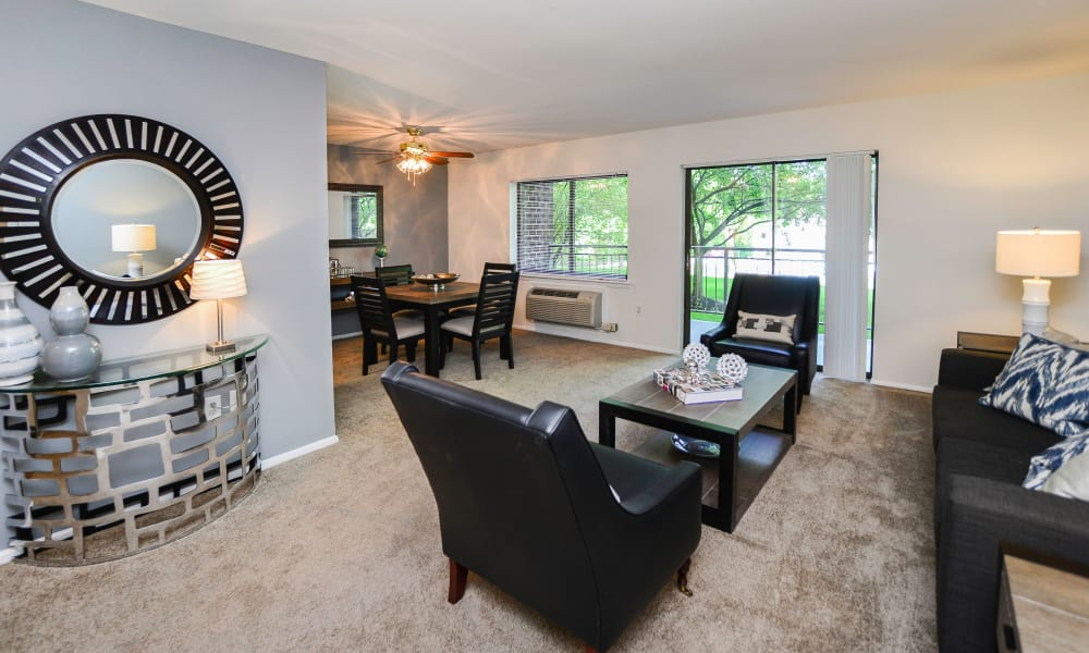 Our apartments in East Norriton, PA showcase a spacious living room