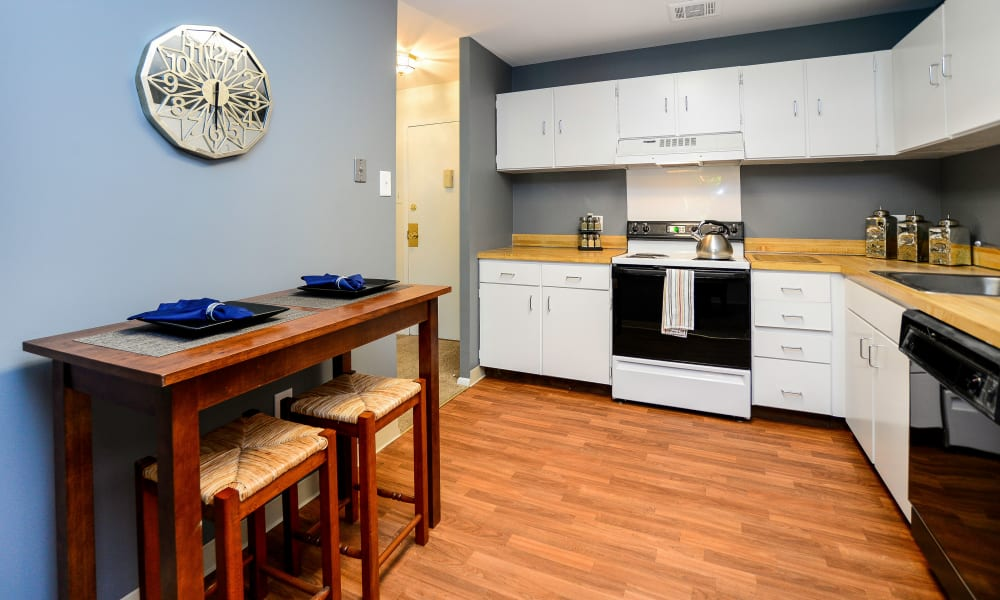 Timberlake Apartment Homes offers a spacious kitchen in East Norriton, PA