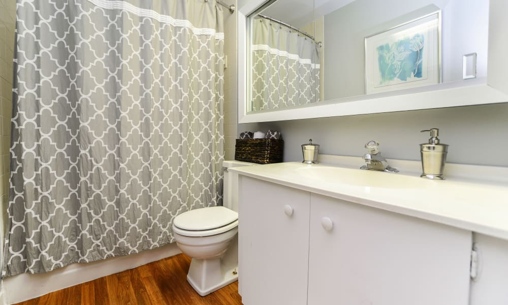 Our apartments in East Norriton, PA offer a bathroom