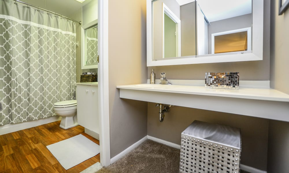 Bathroom at Timberlake Apartment Homes in East Norriton, PA