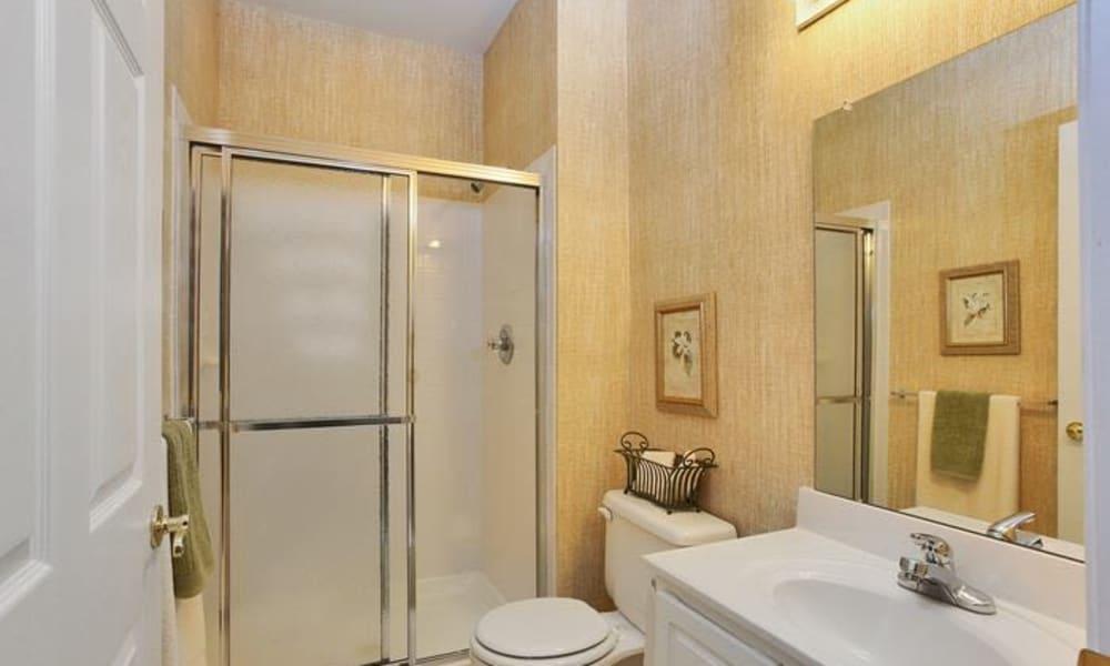Bathroom at Woodview at Marlton Apartment Homes in Marlton, NJ