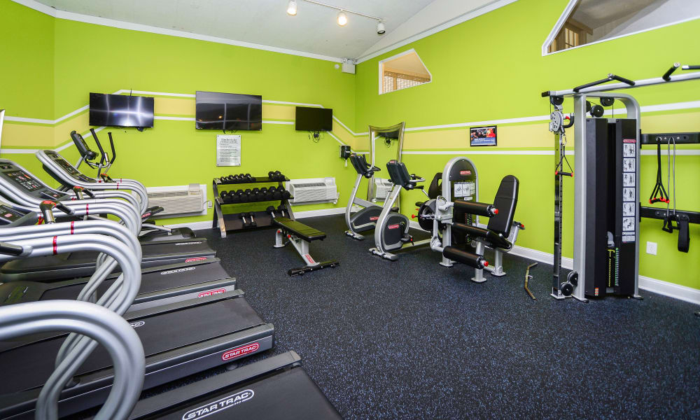 Our apartments in East Norriton, PA offer a fitness center