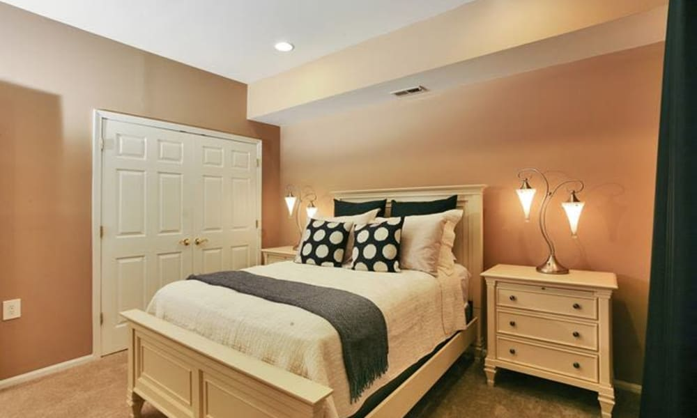 Bedroom at Woodview at Marlton Apartment Homes in Marlton, NJ