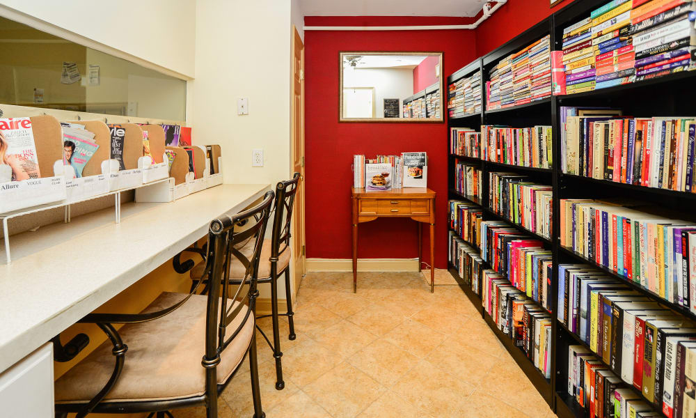 Library at Timberlake Apartment Homes in East Norriton, PA