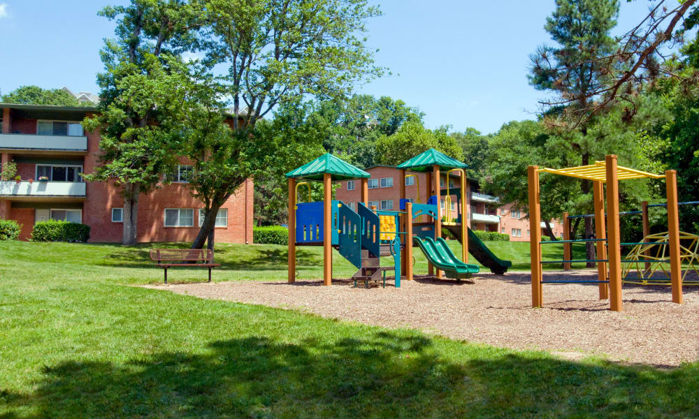Lynbrook at Mark Center Apartment Homes offers a playground in Alexandria, VA