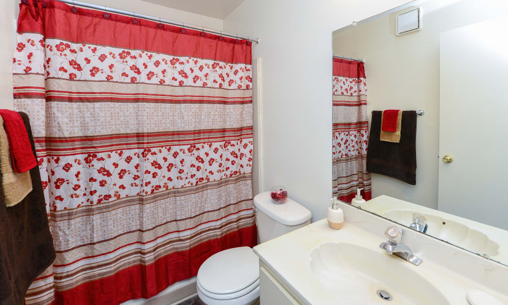 Tory Estates Apartment Homes bathroom in Clementon