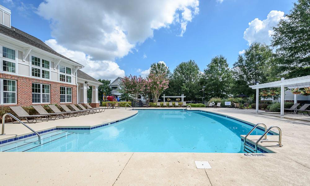 Pool at Falls Creek Apartments & Townhomes