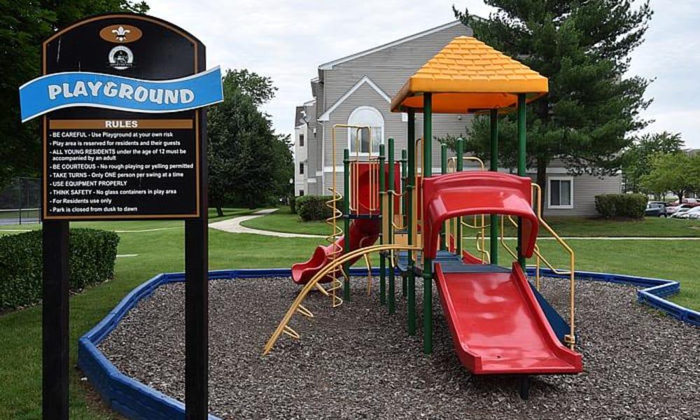 Beautiful playground at Northampton Apartment Homes