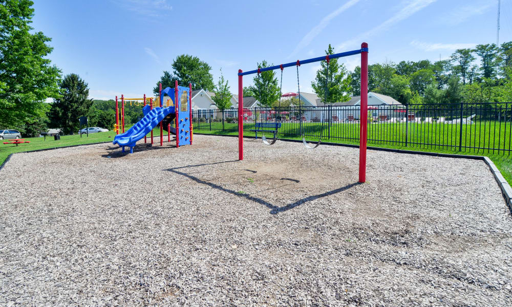 Westerlee Apartment Homes offers a playground in Baltimore, MD