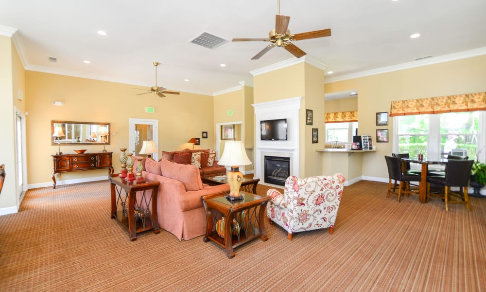 Westerlee Apartment Homes offers a naturally well-lit living room in Baltimore, MD