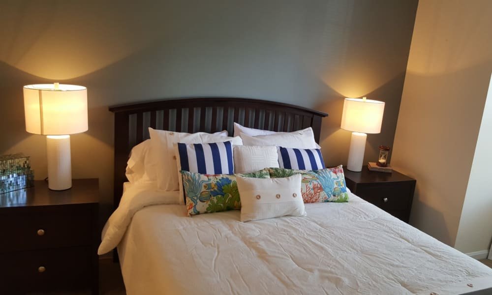 Beautiful bedroom at The Apartments at Diamond Ridge in Baltimore, MD