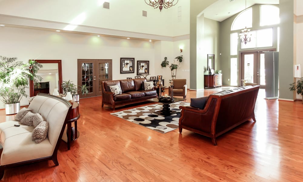 The Apartments at Diamond Ridge offers a spacious clubhouse in Baltimore, MD