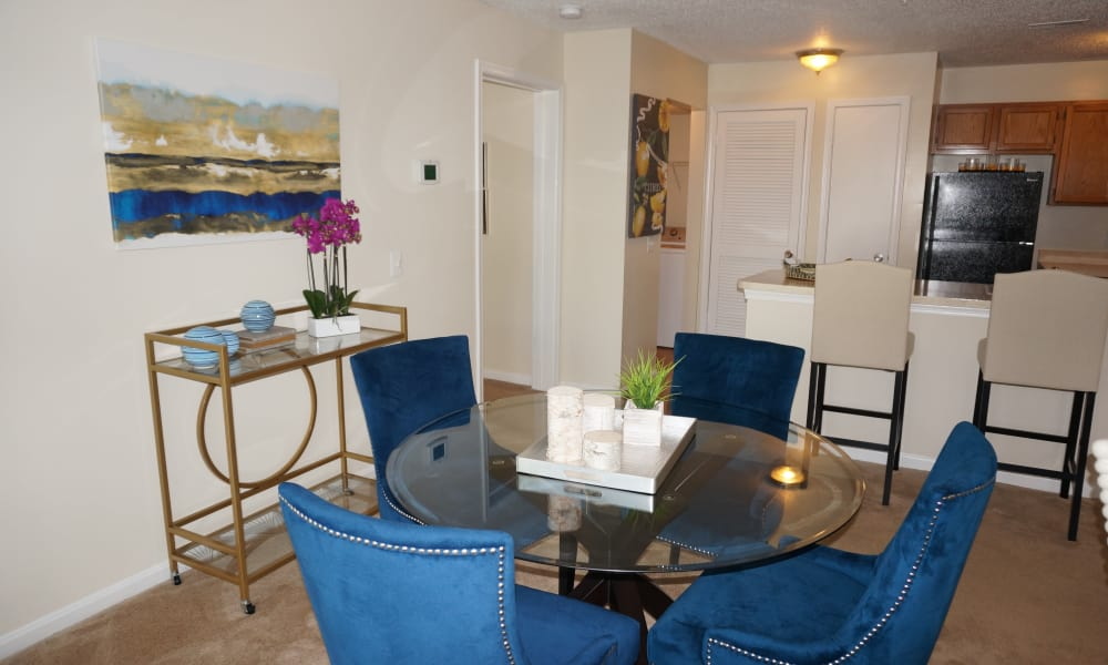 Dinning table at The Apartments at Diamond Ridge in Baltimore, MD
