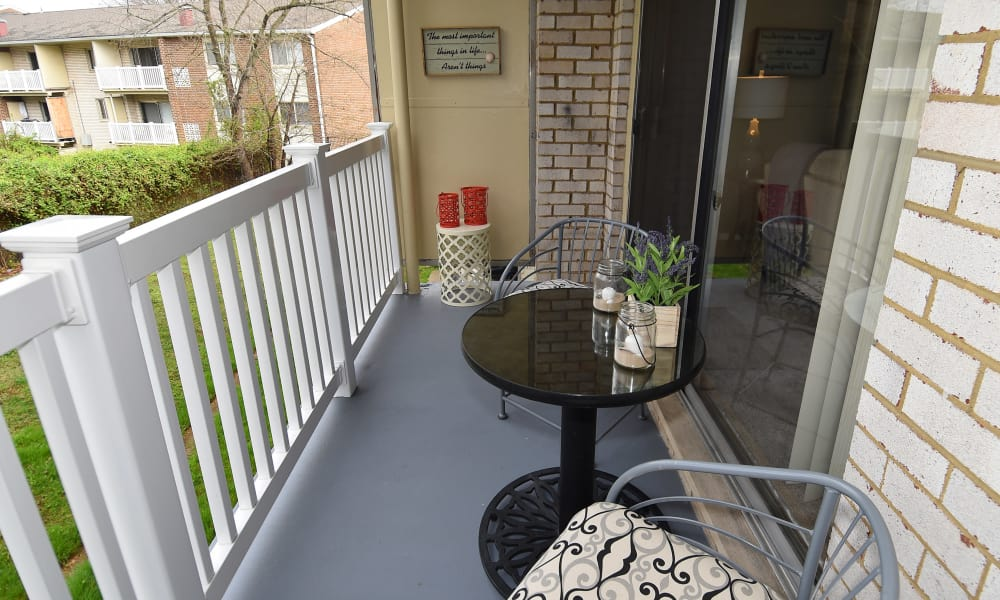 Balcony at Henson Creek Apartment Homes in Temple Hills, MD