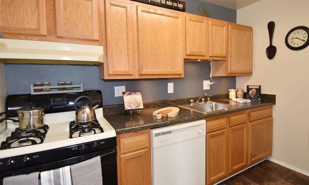 Spacious kitchen at apartments in Temple Hills, MD
