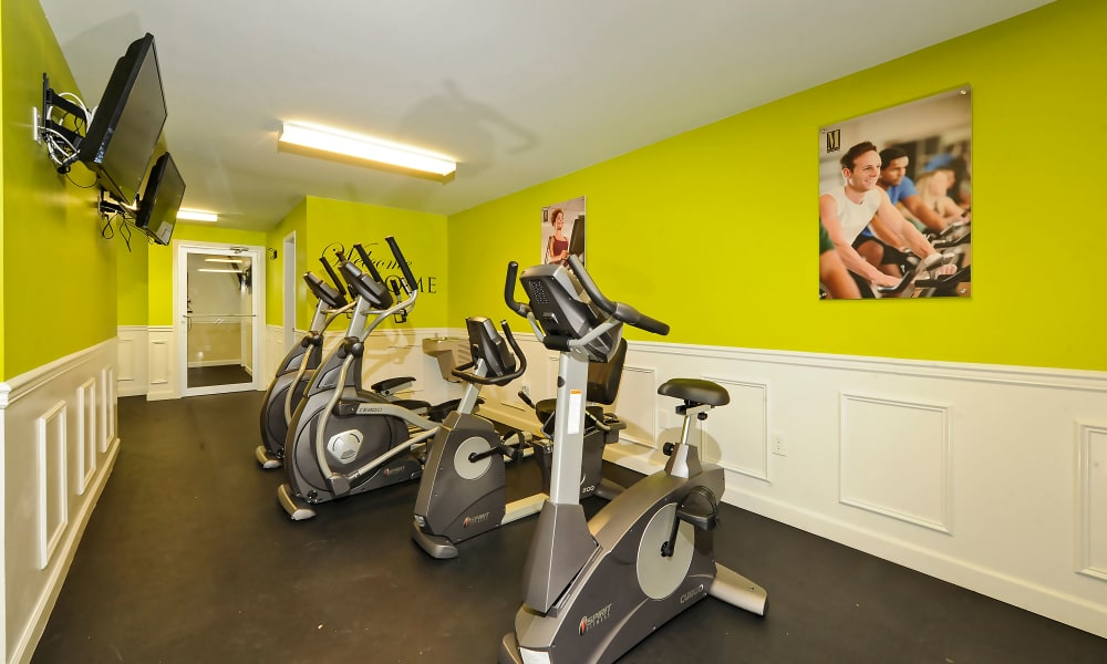 Cedar Gardens and Towers Apartments & Townhomes offers a fitness center in Windsor Mill, MD