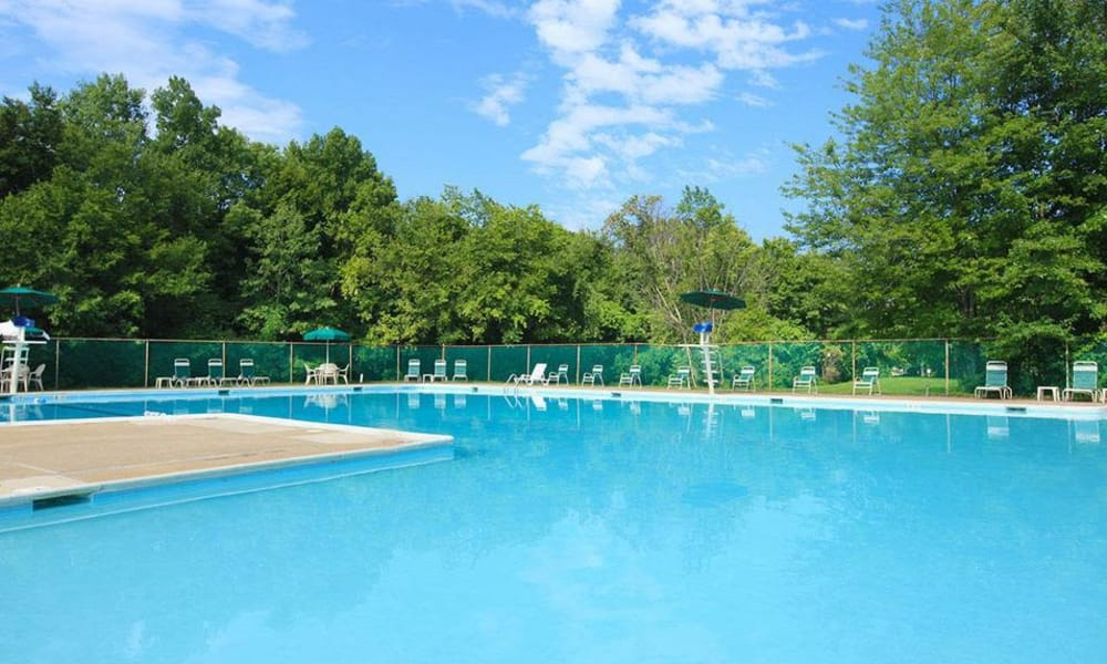 Cedar Gardens and Towers Apartments & Townhomes offers a swimming pool in Windsor Mill, MD