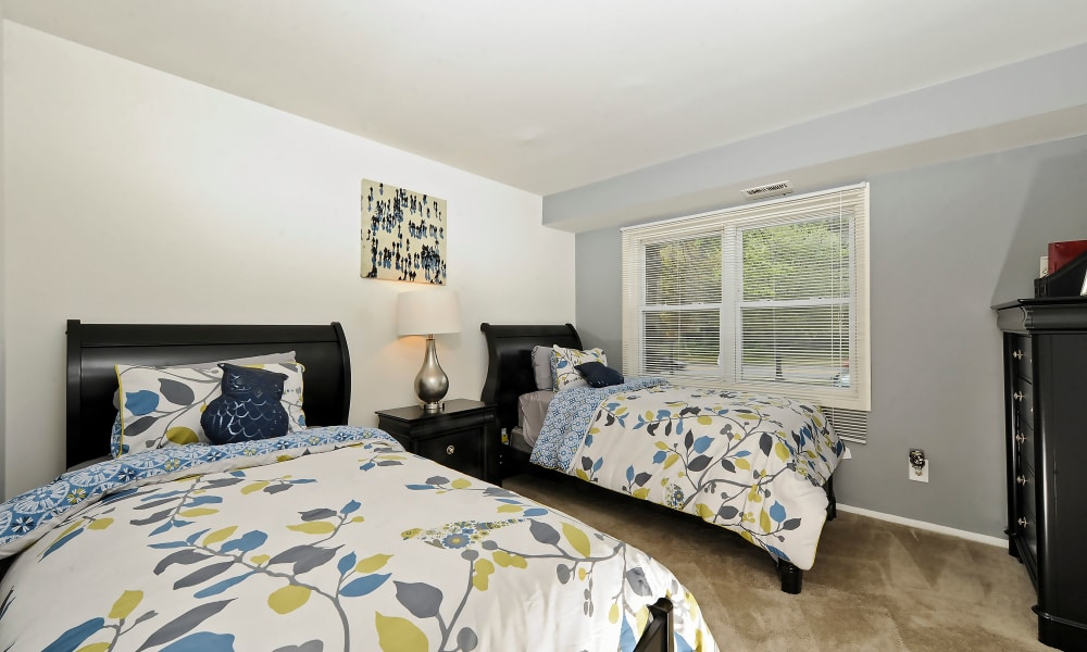 Our apartments in Windsor Mill, MD showcase a spacious bedroom