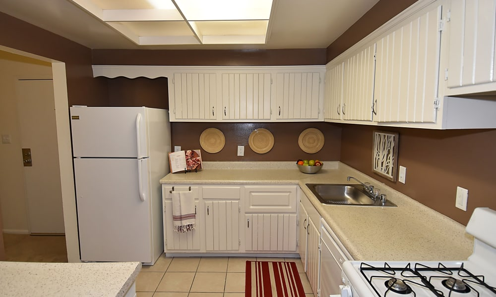 Kitchen at apartments in Beltsville, MD